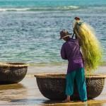 reisebericht vietnam, nhatrang, kuestenstadt, khanhhoa, tourismus, strand, fischer, zentralvietnam, suedostasien, asien