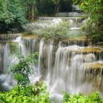 backpacking thailand, welche kosten kommen auf dich zu, wasserfall, erawan, nationalpark, kanchanaburi, naturschutz, tour, suedostasien, asien